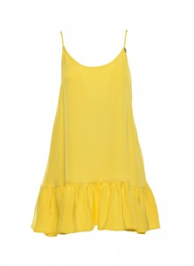 Yellow Mellow Mini Dress
