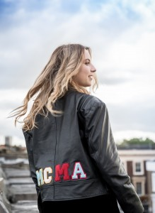 MCMA leather jacket