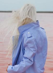 Lavender Moto Jacket