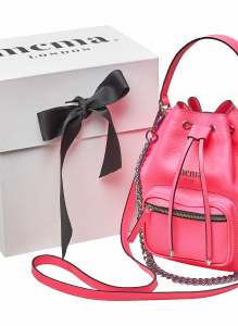 NeonPink Bucket Midi Bag