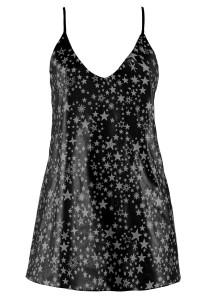 Stardust Leather Mini Dress